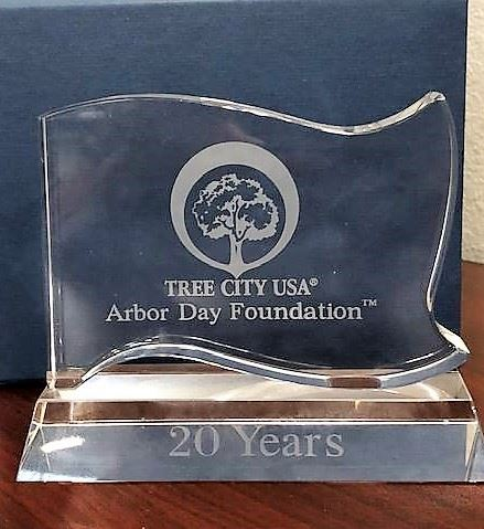 Tree City USA 20th Year Award