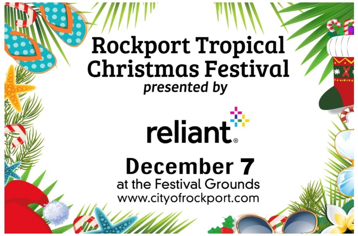 Tropical Christmas 2019 Banner Flyer